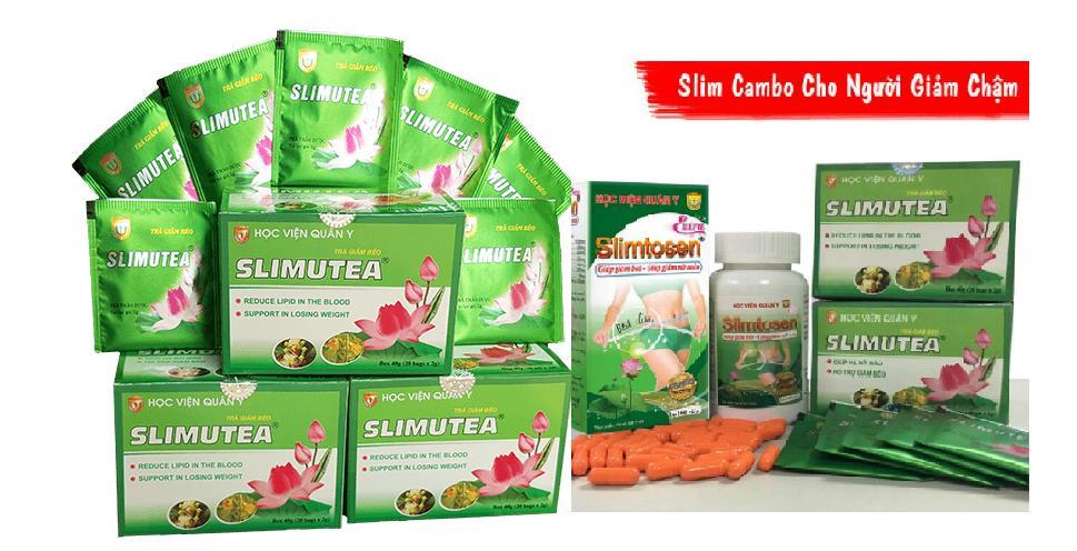 Combo 01 Slimtosen Extra + 05 Slimutea -HVQY