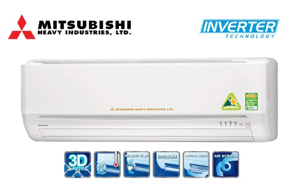 Bảng giá Điều hòa MITSUBISHI SRK/SRC10YXP-S5 9000BTU 1 chiều INVERTER 9000BTU (Trắng)