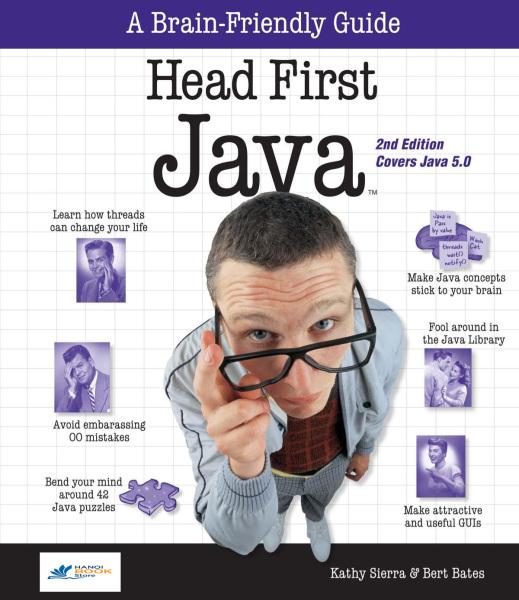 Head First Java, 2nd Edition - Hanoi bookstore