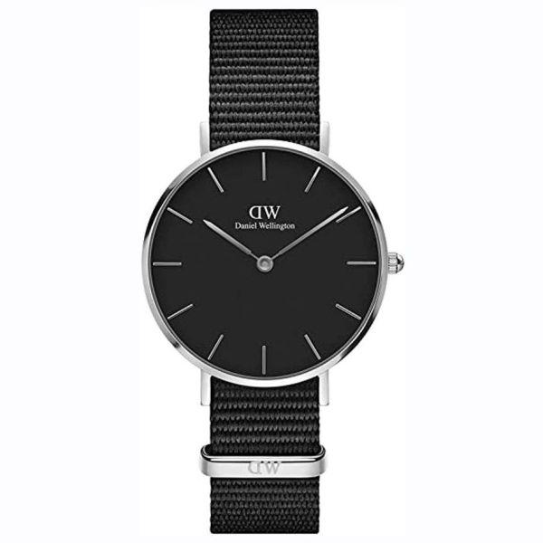 Nơi bán [ MUA 1 TẶNG 1 ] Đồng hồ nữ cao cấp đồng hồ nữ danlei wellingt0n classic petite ashfield DW00100248-quartz(pin)-dây vải-28mm-full box, Đồng hồ nữ chống nước, đồng hồ nữ sang trọng