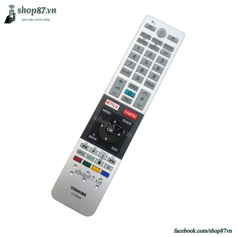 Bảng giá Remote điều khiển TV Toshiba giọng nói CT-8536