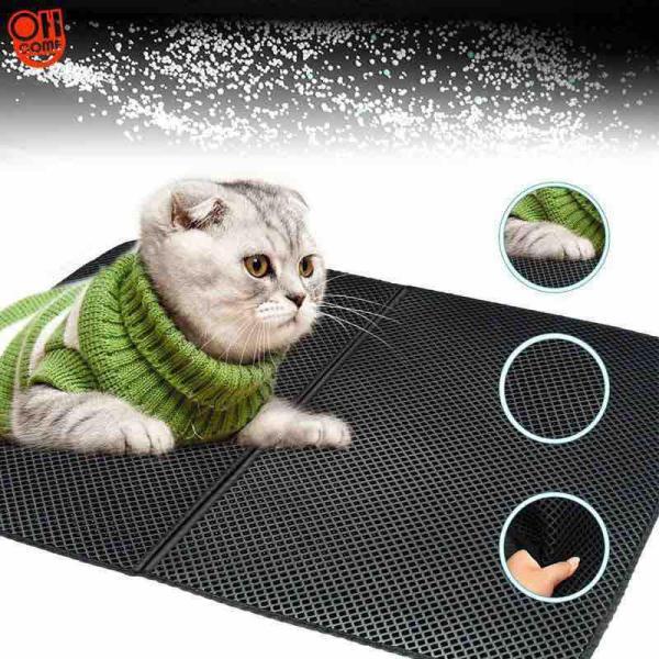 Thảm lót khay cát chống vương vãi cho mèo size L (45x60cm)