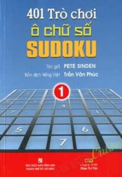 Mua Fahasa - 401 Trò Chơi Ô Chữ Số Sudoku - Tập 1