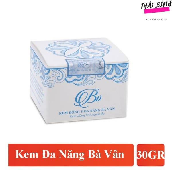 Kem Bà Vân 30gr - kem da nang ba van chuyên côn trùng cắn , viêm da dị ứng , bỏng ,hăm ,chàm ,lở loét