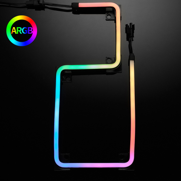 PHANTEKS M5 Light Strip ARGB Neon Computer Case Decoration Led Strip 5V 3PIN Light Header AURA 550mm