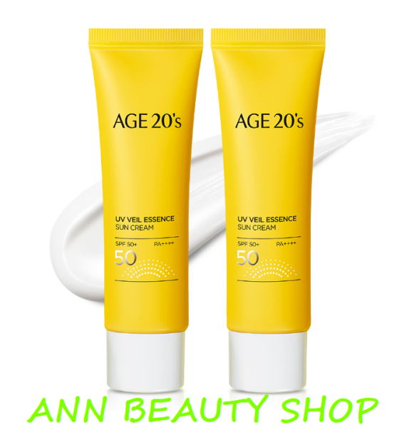 Kem Chống Nắng AGE20s UV Veil Essence Sun Cream SPF50*/ PA++++ 50ml