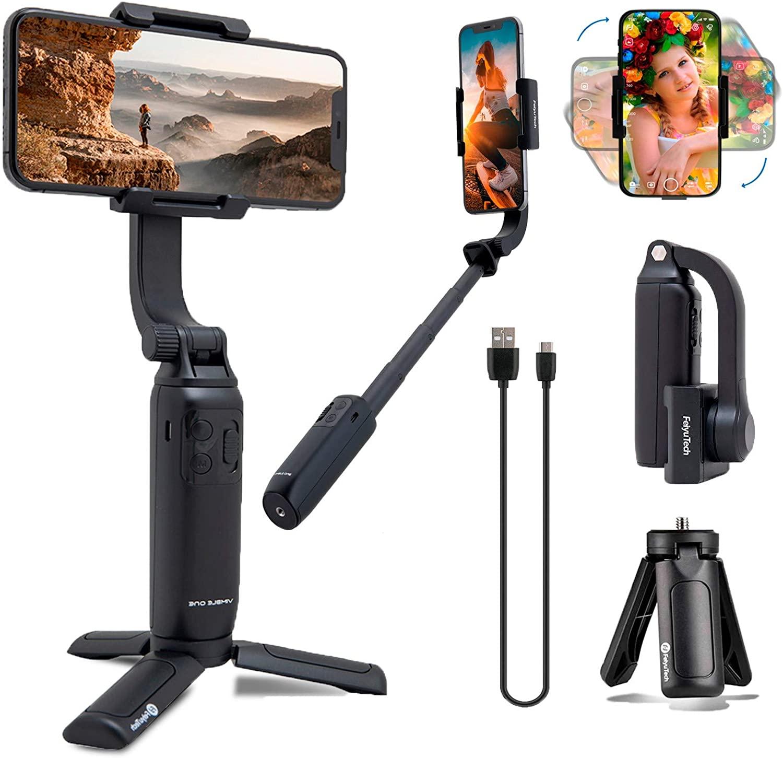 Feiyu Vimbal One - Gimbal Chống Rung Dùng Cho Điện Thoại, Trục Đơn 18cm Có Thể Mở Rộng Và Gập Gọn | Feiyu Tech Vimble ONE Single Axis 18cm Extendable & Foldable Smartphone Gimbal Stabilizer