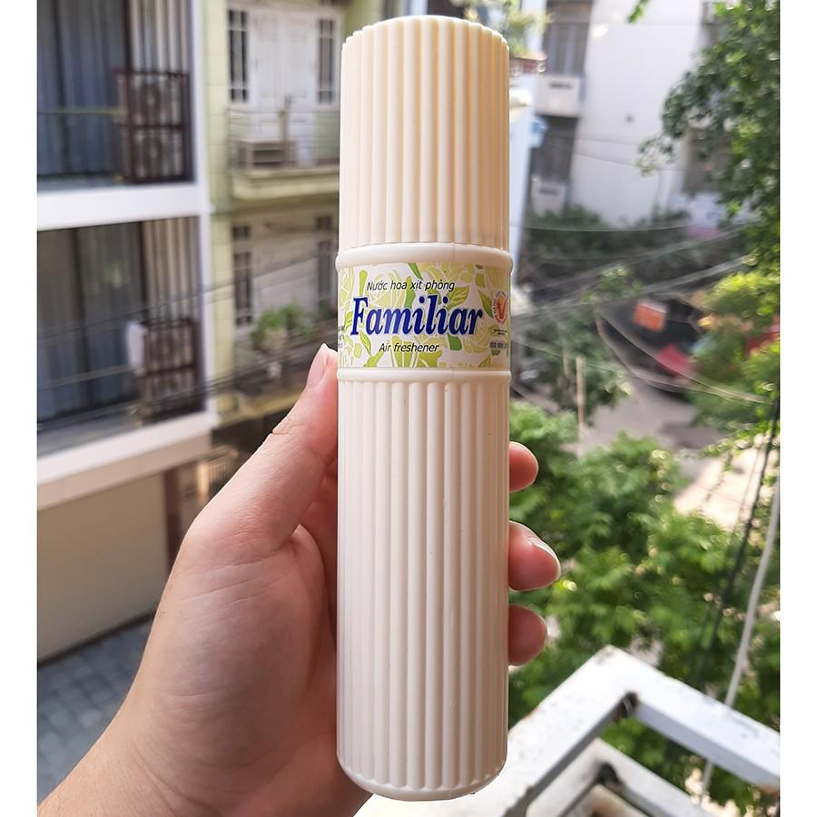 Xịt phòng nước hoa familiar Hương Sảng Khoái Air Freshener 200ml