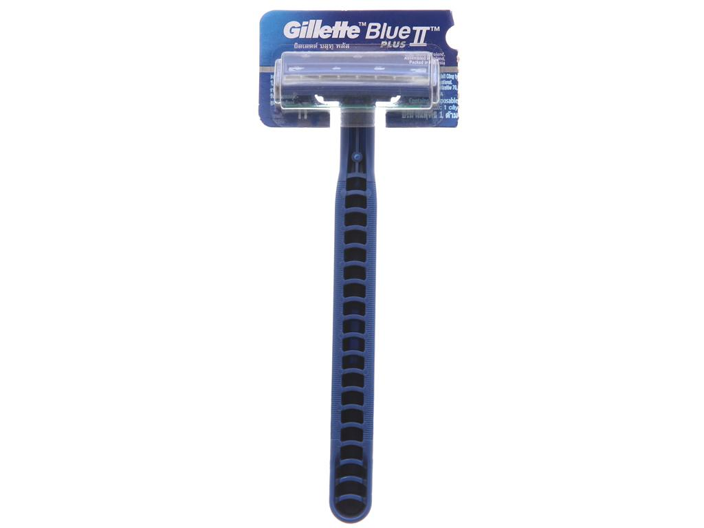 dao cạo râu lưỡi kép Gillette Blue II