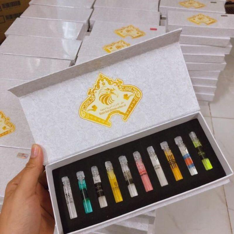 Set 10 tinh dầu nước hoa Dubai
