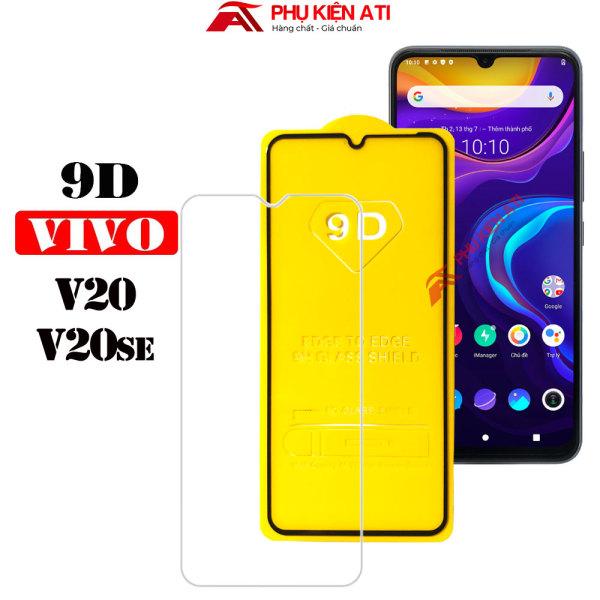 Kính cường lực Vivo V20/ V20se Full màn hình 9D- Độ cứng 9H