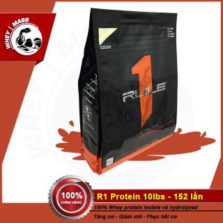 Sữa Dinh Dưỡng Tăng Cơ Whey Isolate RULE1 Rule 1 R1 Protein 10 Lbs (4.54kg) thumbnail