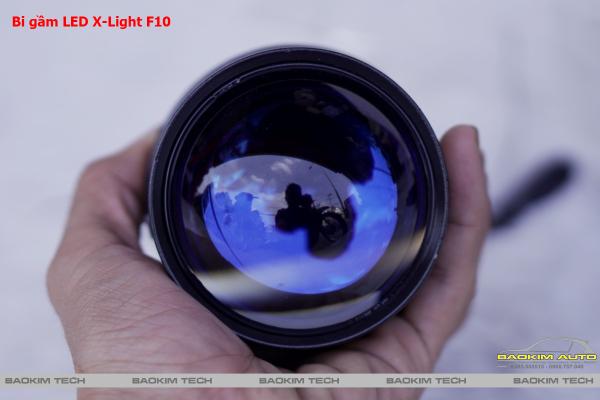 (Siêu hot) Bi gầm LED X-Light F10 chính hãng cực kì Kool, ánh sáng vượt trội dòng bi gầm LED