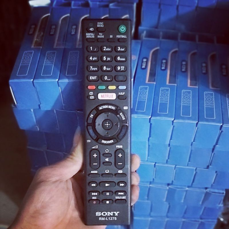Bảng giá điều khiển tivi sony smat 1275