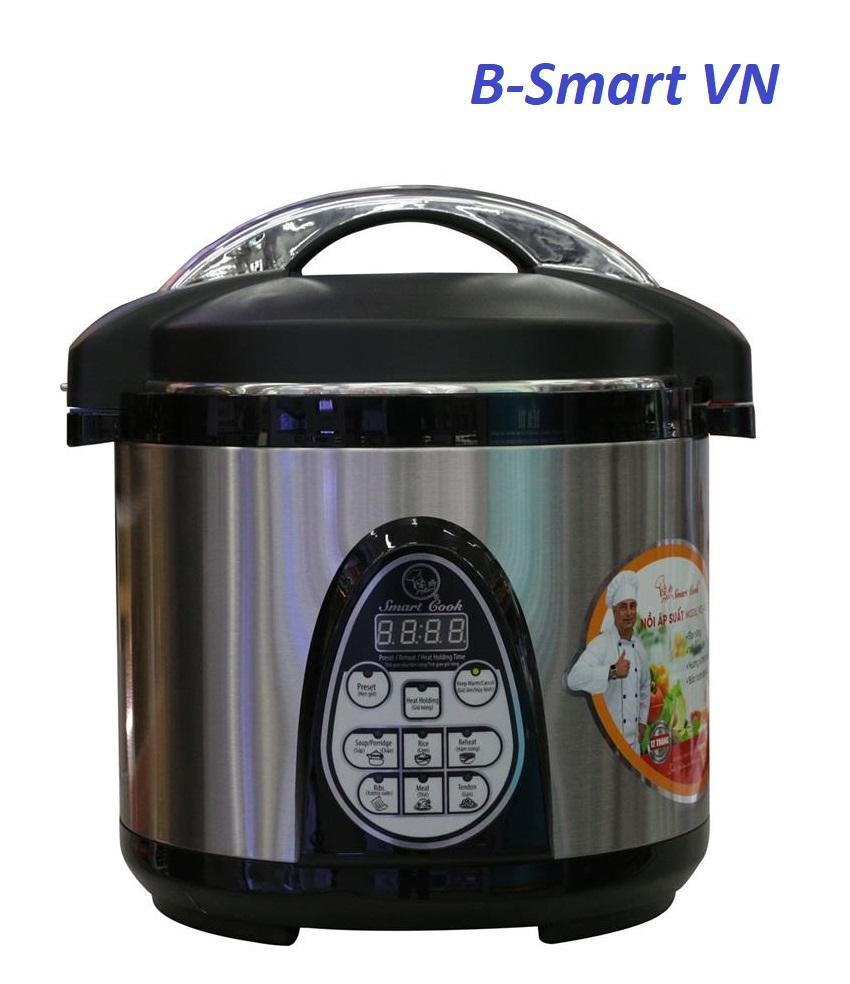 Nồi áp suất Smartcook PCS-0238 6L (Bạc)