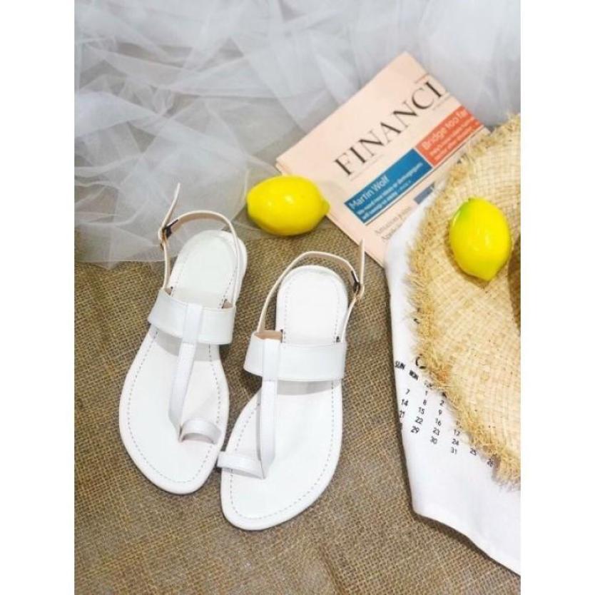 Giày Sandal Đế Bệt Xỏ Ngón Quai Mảnh Năng Động giá rẻ