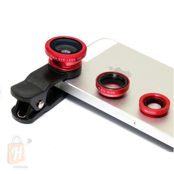 Bảng giá Lens chụp hình cho điện thoại 3 trong 1 Universal Clip Lens - Hình Ảnh Rõ Nét Phong Vũ