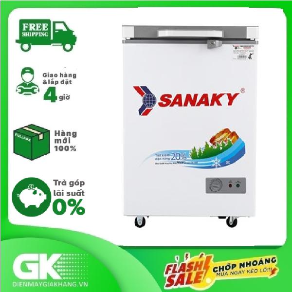 [Nhập ELMAY21 giảm 10% tối đa 200k đơn từ 99k]Tủ đông Sanaky VH-1599HYK