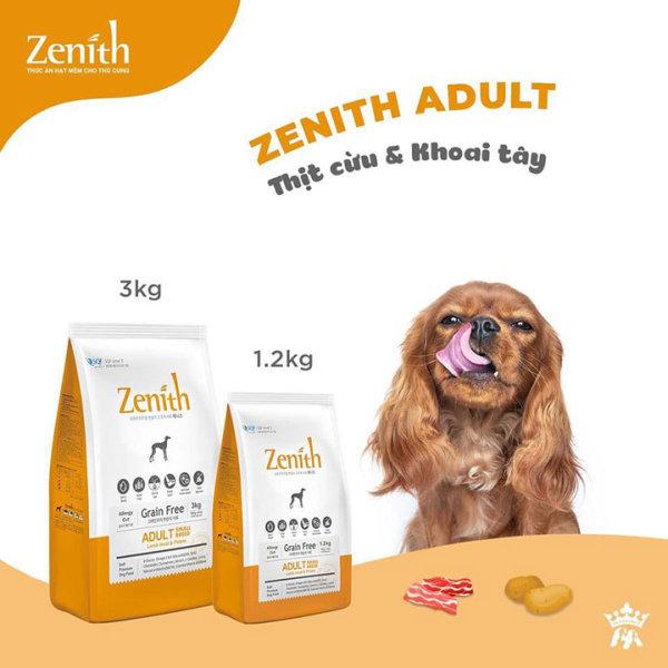 Thức ăn hạt mềm cho chó lớn vị cừu Zenith small  - Phụ kiện thú cưng Hà Nội