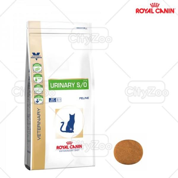 Thức ăn cho mèo bị sỏi thận Urinary S/O Royal canin 1,5kg