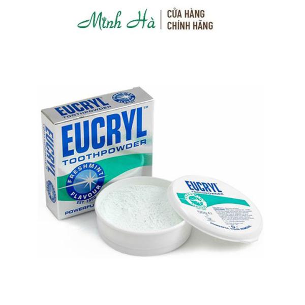 Bột tẩy trắng răng Eucryl của Anh