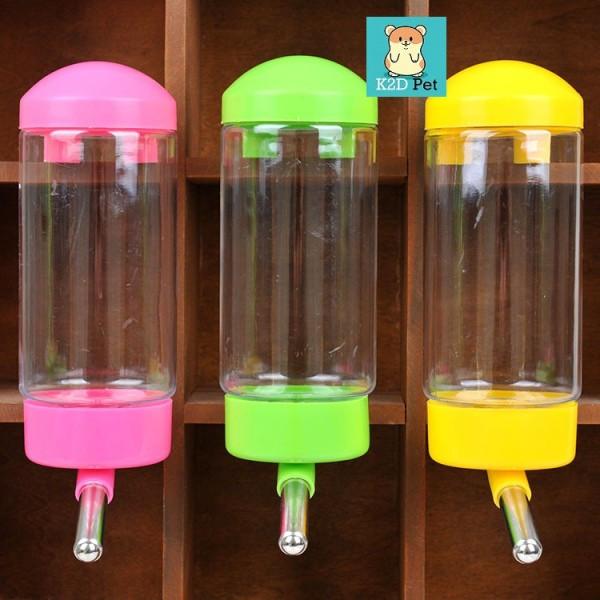 Bình nước bi 400ml cho Guinea Pig (bọ ú, chuột lang), thỏ, chinchilla, chó, mèo