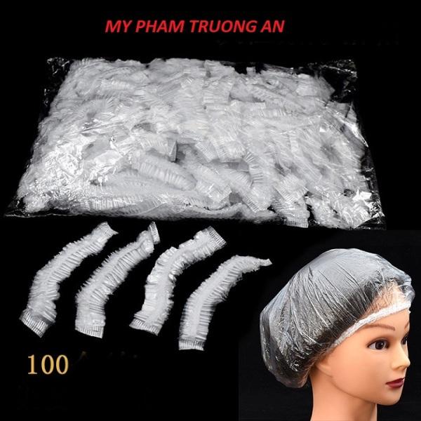 100 mũ trùm đầu nilon cho salon có thể tái sử dụng cao cấp
