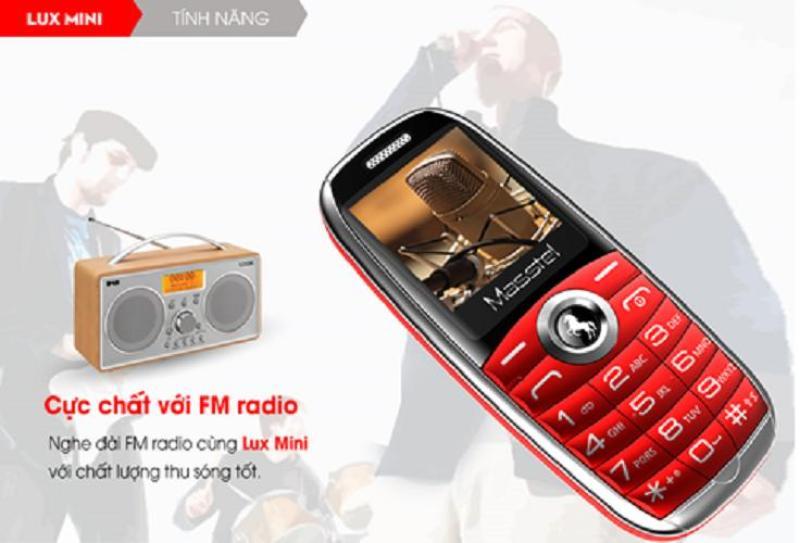 [Nhập ELMAY21 giảm 10% tối đa 200k đơn từ 99k]Điện thoại Masstel Lux Mini mẫu độc lạ giá tốt