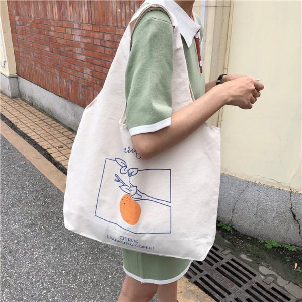 Túi Vải Đeo Vai Phong Cách Nhật Bản Cao Cấp XinhStore Chất liệu vải Canvas cao cấp đựng được nhiều đồ phù hợp đi làm đi học hoặc đi chơi