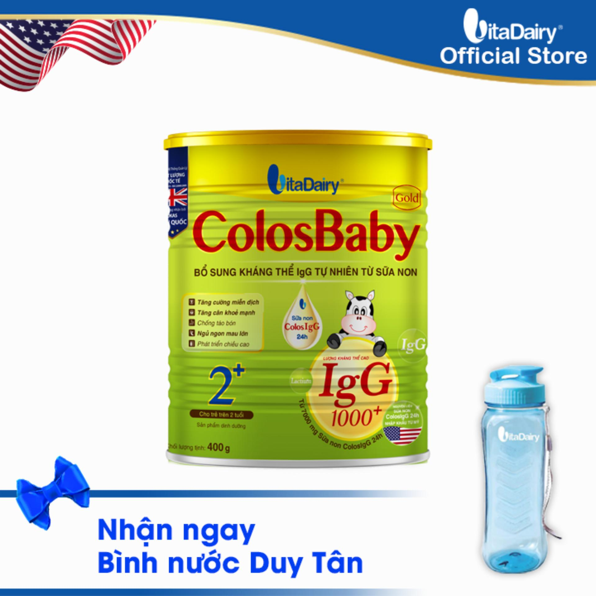 Sữa non COLOSBABY GOLD 2+ 400G