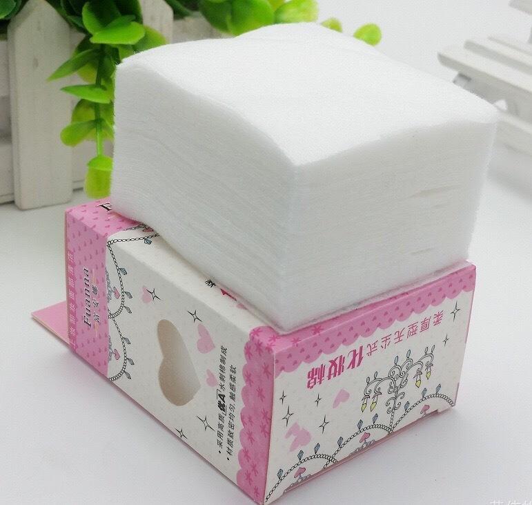 Bông tẩy trang cotton 65 miếng cao cấp