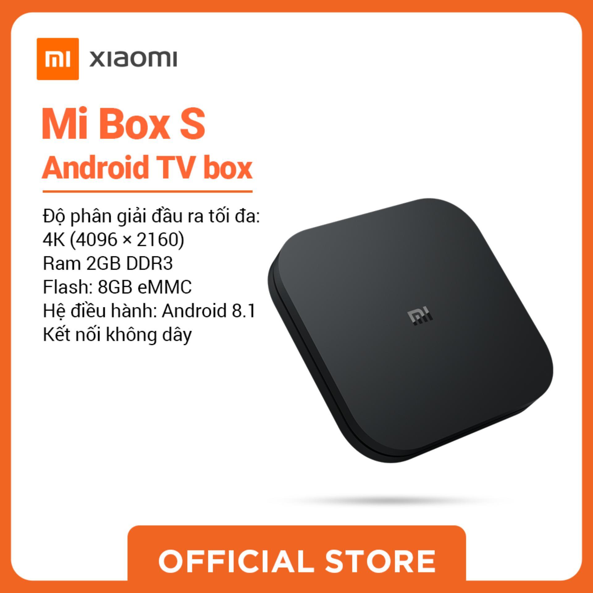 Bảng giá Xiaomi official Mibox S Android TV box_ Hàng chính hãng, bảo hành 12 tháng