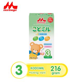 Sữa Morinaga Số 3 Kodomil 216g Cho Bé Từ 3 Tuổi - Hương Vani date T8.2021 (không tem đổi quà) thumbnail