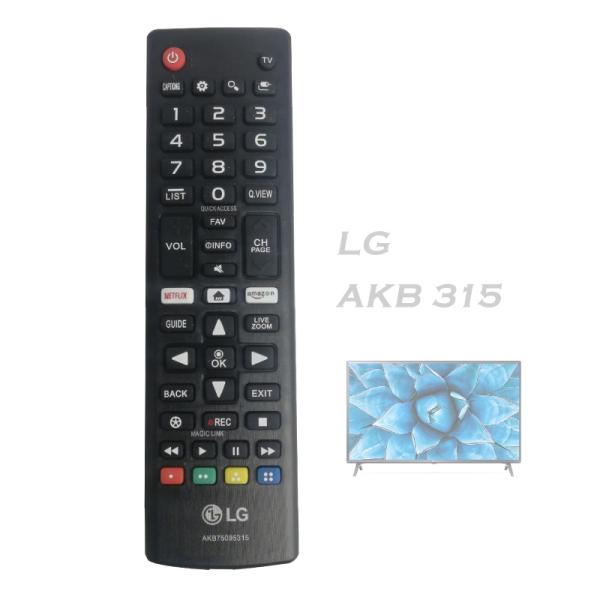 Thông tin sp Điều Khiển tivi LG Smart akb 315
