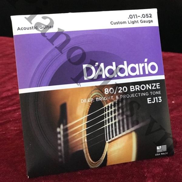 Dây D'Addario Ej13 – Acoustic
