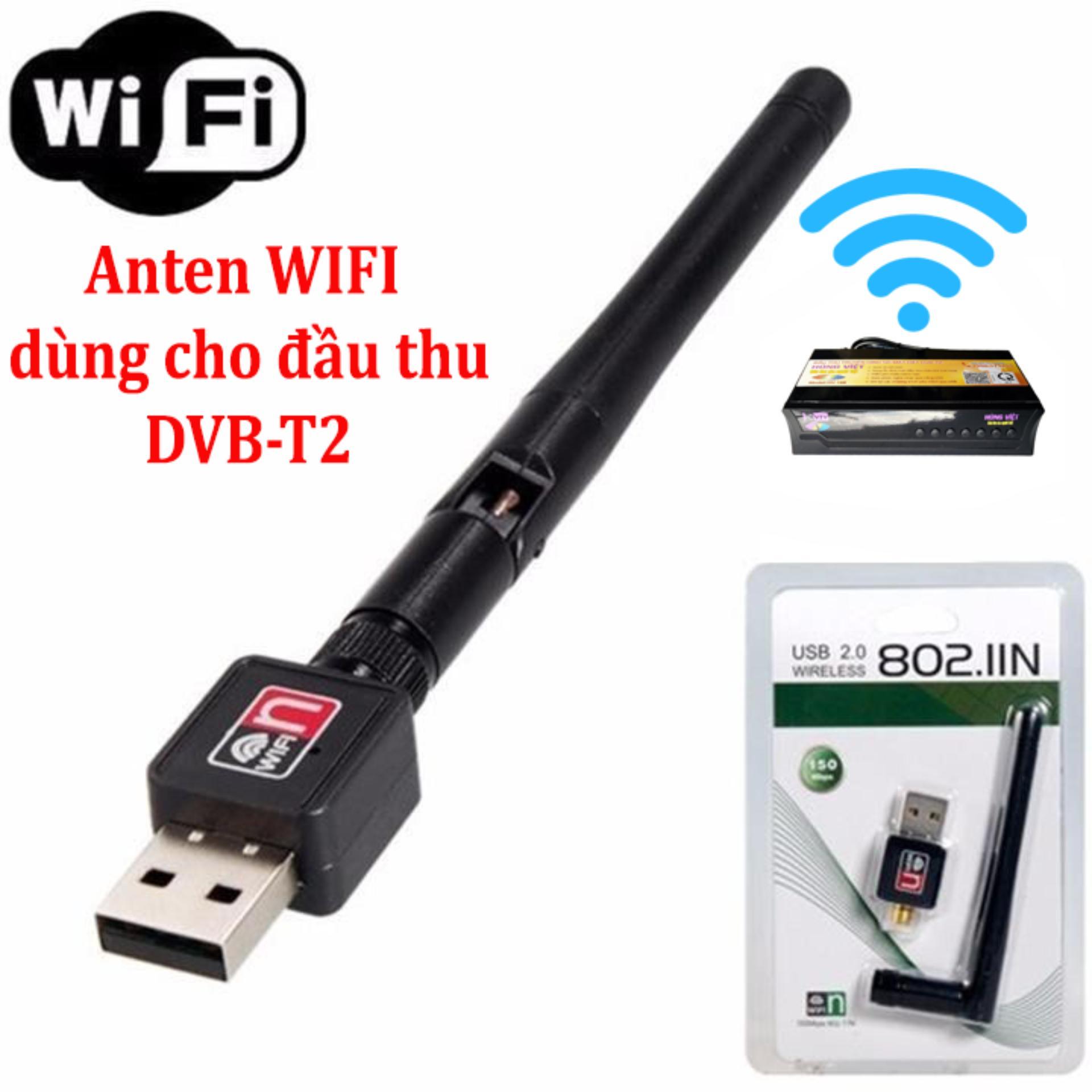 ANTEN WIFI CHO ĐẦU THU DVB-T2 HÙNG VIỆT