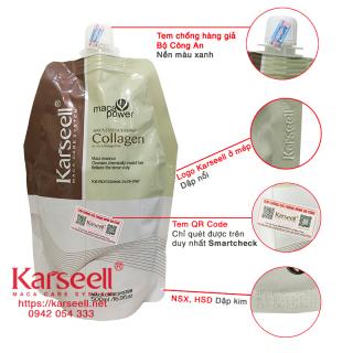 [Nhập khẩu][Sale] Dẩu ủ Tóc Karseell Maca Collagen 500ml ( có tem điện tử chống hàng giả ) thumbnail