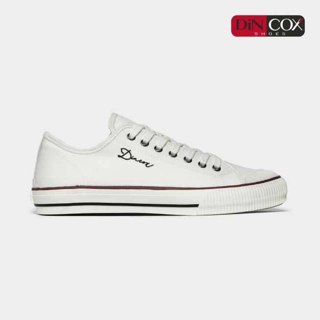 Giày Sneaker Dincox Unisex D21 White giá rẻ