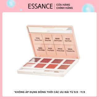 Bảng son lỳ 8 màu Essance Lip Rouge Velvet Palette 8g thumbnail