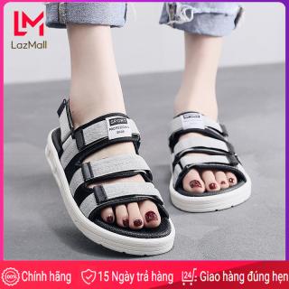 Giày xăng đan đi học cho nữ có 3 quai phong cách năng động thời trang Hàn Quốc cỡ 35-45 giá tốt thumbnail