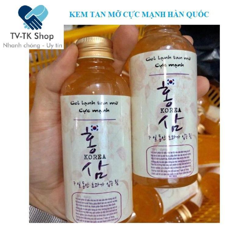 Gel Lạnh Tan Mỡ Cực Mạnh Hàn Quốc (Mẫu mới) nhập khẩu
