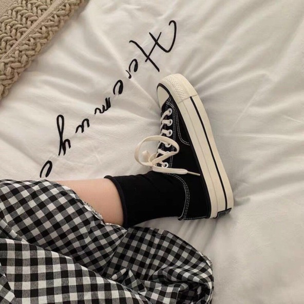 Giày  đen và trắng - Kienvang99 giá rẻ