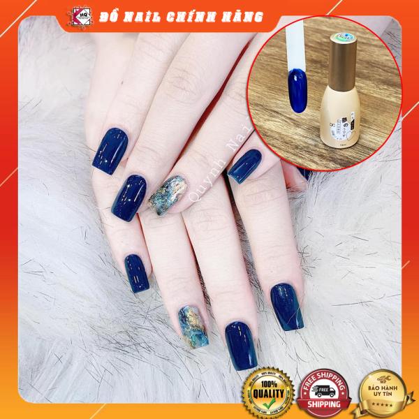 Sơn gel xanh Coban dòng sơn móng tay Nhật đậm đặc và mướt được giới trẻ yêu thích giá rẻ