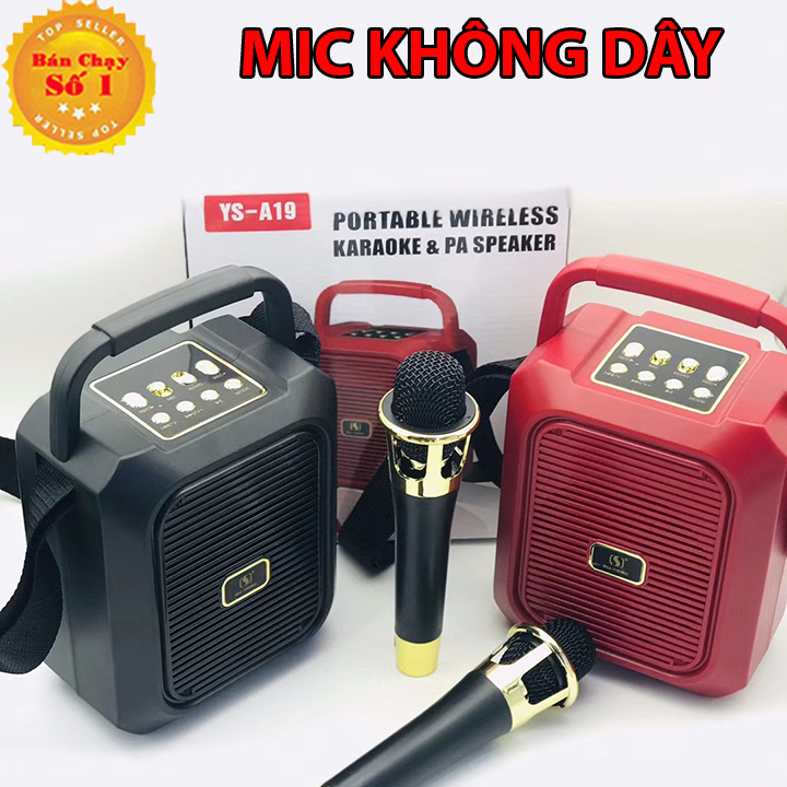 [MIỄN PHÍ VẬN CHUYỂN] loa bluetooth hát karaoke kèm mic, loa bluetooth mini gia re, loa kẹo kéo karaoke công suất lớn, loa kẹo kéo karaoke bluetooth mini