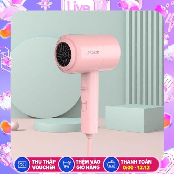 Máy Sấy Tóc Tạo Kiểu Cầm Tay LFcare, máy sấy tóc mini gia đình công suất 1000W, Phong cách thời thượng giá rẻ
