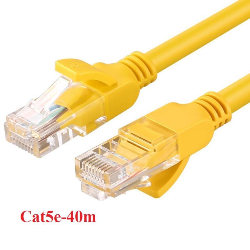 Bảng giá Dây cáp mạng Internet bấm sẵn dài 40m chuẩn cat 5e Phong Vũ