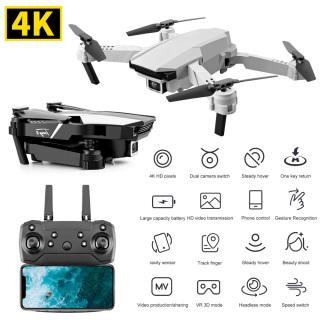 Drone Điều Khiển Từ Xa S62 Pin Khủng, Máy Bay Flycam Không Người Lái S62 4K Hd Chống Nhiễu Chống Rung, 2.4Ghz Camera Kép Góc Rộng, Điều Khiển Từ Xa Độ Cao Định Vị Trực Quan Wifi 1080P, Động Cơ Mạnh Mẽ, Chuyên Nghiệp Trong Ngành thumbnail