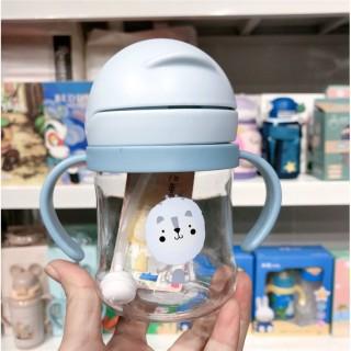 Bình uống nước 280ml cho bé có vạch chia họa tiết đáng yêu, cam kết hàng đúng mô tả, chất lượng đảm bảo, an toàn cho người sử dụng thumbnail