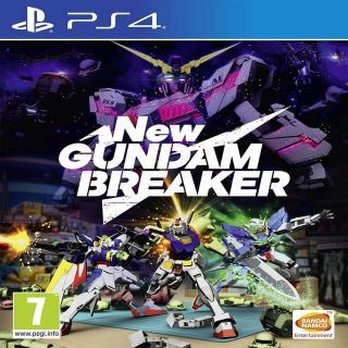 [Nhập ELJUN21 giảm 10% tối đa 200k đơn từ 99k] Đĩa game PS4 New Gundam Breaker thumbnail
