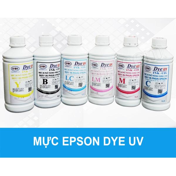 Bảng giá MỰC EPSON DYE UV- 1 LÍT- MỖI MÀU Phong Vũ